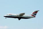 Gambardierさんが、フランクフルト国際空港で撮影したブリティッシュ・エアウェイズ・シティエクスプレス Avro 146-RJ100の航空フォト(写真)