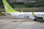 kumagorouさんが、長崎空港で撮影したソラシド エア 737-81Dの航空フォト(写真)