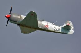 Tomo-Papaさんが、ミリテール・ド・ペイエルヌ飛行場で撮影したフランス企業所有 Yak-3の航空フォト(飛行機 写真・画像)