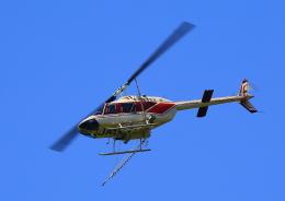 タミーさんが、静岡空港で撮影したアカギヘリコプター 206B-3 JetRanger IIIの航空フォト(写真)