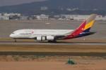 resocha747さんが、仁川国際空港で撮影したアシアナ航空 A380-841の航空フォト(飛行機 写真・画像)