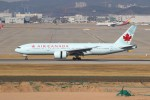 resocha747さんが、仁川国際空港で撮影したエア・カナダ 777-233/LRの航空フォト(飛行機 写真・画像)