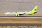 resocha747さんが、仁川国際空港で撮影したジンエアー 737-8Q8の航空フォト(飛行機 写真・画像)