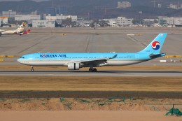 resocha747さんが、仁川国際空港で撮影した大韓航空 A330-323Xの航空フォト(飛行機 写真・画像)