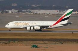 resocha747さんが、仁川国際空港で撮影したエミレーツ航空 A380-861の航空フォト(飛行機 写真・画像)