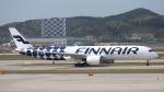 やまちゃんさんが、仁川国際空港で撮影したフィンエアー A350-941XWBの航空フォト(写真)