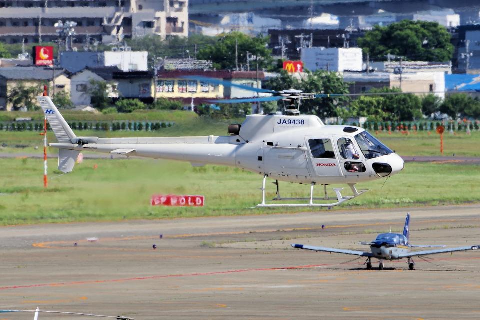 yabyanさんの本田航空 Aerospatiale AS350 Ecureuil/AStar (JA9438) 航空フォト