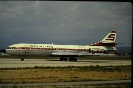 鯉ッチさんが、パルマ デ マヨルカ空港で撮影したスターリング航空の航空フォト(飛行機 写真・画像)
