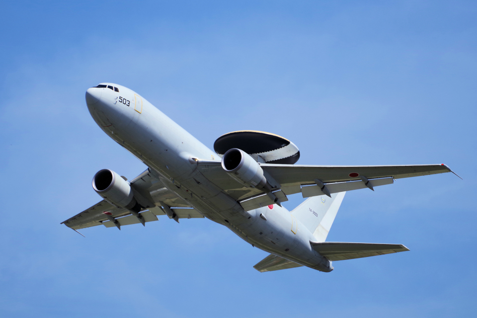 yabyanさんの航空自衛隊 Boeing 767-200 (74-3503) 航空フォト