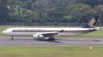 誘喜さんが、シンガポール・チャンギ国際空港で撮影したシンガポール航空 A330-343Xの航空フォト(写真)