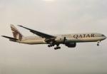 05RKさんが、成田国際空港で撮影したカタール航空 777-3DZ/ERの航空フォト(写真)