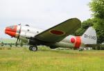 ケロさんが、入間飛行場で撮影した航空自衛隊 C-46A-60-CKの航空フォト(写真)