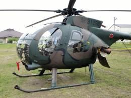 もぐ3さんが、新発田駐屯地で撮影した陸上自衛隊 OH-6Dの航空フォト(飛行機 写真・画像)