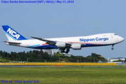 Chofu Spotter Ariaさんが、成田国際空港で撮影した日本貨物航空 747-8KZF/SCDの航空フォト(飛行機 写真・画像)