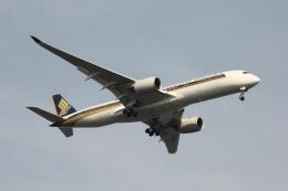 空の旅人さんが、羽田空港で撮影したシンガポール航空 A350-941の航空フォト(飛行機 写真・画像)