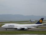 からすさんが、関西国際空港で撮影したルフトハンザドイツ航空 747-430の航空フォト(写真)