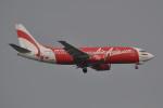 いもや太郎さんが、シンガポール・チャンギ国際空港で撮影したエアアジア・インドネシア 737-3Y0の航空フォト(写真)