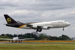 Cozy Gotoさんが、成田国際空港で撮影したUPS航空 747-4R7F/SCDの航空フォト(写真)