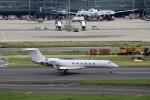 ハム太郎。さんが、羽田空港で撮影したヒューレット・パッカード G-V Gulfstream Vの航空フォト(写真)