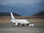 ランチパッドさんが、静岡空港で撮影したMINTH グループ A318-112 CJ Eliteの航空フォト(写真)