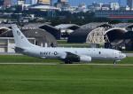 じーく。さんが、嘉手納飛行場で撮影したアメリカ海軍 P-8A (737-8FV)の航空フォト(写真)