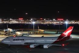 らむえあたーびんさんが、羽田空港で撮影したカンタス航空 747-438/ERの航空フォト(飛行機 写真・画像)