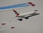ちゃぽんさんが、フェアフォード空軍基地で撮影したブリティッシュ・エアウェイズ A380-841の航空フォト(飛行機 写真・画像)