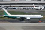 シュウさんが、羽田空港で撮影したカルエア 767-3P6/ERの航空フォト(写真)