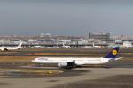 ブラボーさんが、羽田空港で撮影したルフトハンザドイツ航空 A340-642Xの航空フォト(写真)