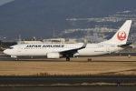 眠たいさんが、伊丹空港で撮影した日本航空 737-846の航空フォト(写真)