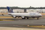 kuraykiさんが、成田国際空港で撮影したユナイテッド航空 747-422の航空フォト(写真)