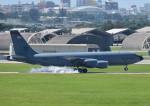 じーく。さんが、嘉手納飛行場で撮影したアメリカ空軍 KC-135R Stratotanker (717-148)の航空フォト(飛行機 写真・画像)