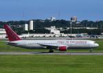 じーく。さんが、嘉手納飛行場で撮影したオムニエアインターナショナル 767-328/ERの航空フォト(写真)