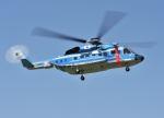 パンサーRP21さんが、東京ヘリポートで撮影した警視庁 S-92Aの航空フォト(写真)