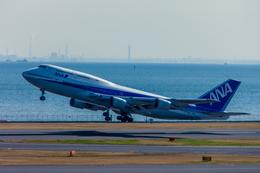 カヤノユウイチさんが、羽田空港で撮影した全日空 747-481(D)の航空フォト(写真)