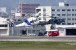 Hottyさんが、名古屋飛行場で撮影したオールニッポンヘリコプター AW139の航空フォト(写真)