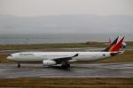 ハピネスさんが、関西国際空港で撮影したフィリピン航空 A330-343Xの航空フォト(飛行機 写真・画像)