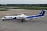 菊池 正人さんが、秋田空港で撮影したANAウイングス DHC-8-402Q Dash 8の航空フォト(写真)