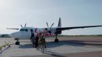 ちゃぽんさんが、カールスタード空港で撮影したスカイウェイズ 50の航空フォト(写真)