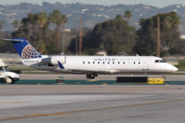 nontan8さんが、ロサンゼルス国際空港で撮影したスカイウエスト CL-600-2B19 Regional Jet CRJ-200の航空フォト(飛行機 写真・画像)