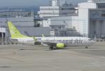 eagletさんが、中部国際空港で撮影したソラシド エア 737-81Dの航空フォト(写真)