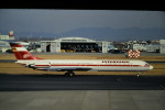 鯉ッチさんが、名古屋飛行場で撮影したインターフルーク Il-62Mの航空フォト(写真)