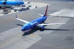 KAZKAZさんが、サンフランシスコ国際空港で撮影したサンカントリー・エアラインズ 737-8BKの航空フォト(写真)