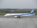 taka100さんが、女満別空港で撮影した全日空 A321-211の航空フォト(写真)