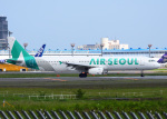 bluesky05さんが、成田国際空港で撮影したエアソウル A321-231の航空フォト(写真)