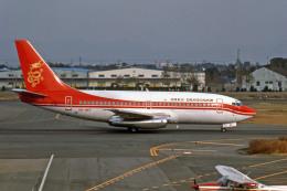 Gambardierさんが、名古屋飛行場で撮影した香港ドラゴン航空 737-2L9/Advの航空フォト(飛行機 写真・画像)