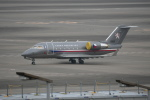 シュウさんが、羽田空港で撮影したチェコ空軍 Challenger 600の航空フォト(写真)
