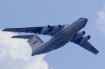 ちゃぽんさんが、ラメンスコエ空港で撮影したロシア空軍 Il-76MDの航空フォト(写真)