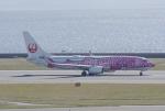 eagletさんが、中部国際空港で撮影した日本トランスオーシャン航空 737-8Q3の航空フォト(写真)