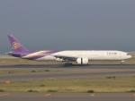 カフェもなかさんが、中部国際空港で撮影したタイ国際航空 777-3AL/ERの航空フォト(写真)